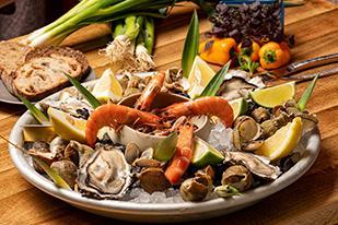 Nos plateaux de fruits de mer suivant vos envies